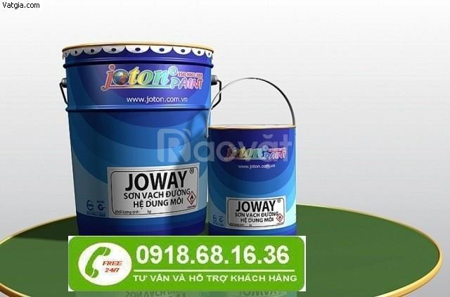 Nhà cung cấp  sơn kẻ vạch Joton lạnh Joway màu trắng tại Bình Dương