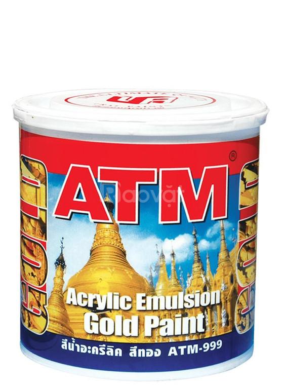 Địa chỉ bán  sơn lót Galant nhũ vàng 999 chính hãng tại Long An