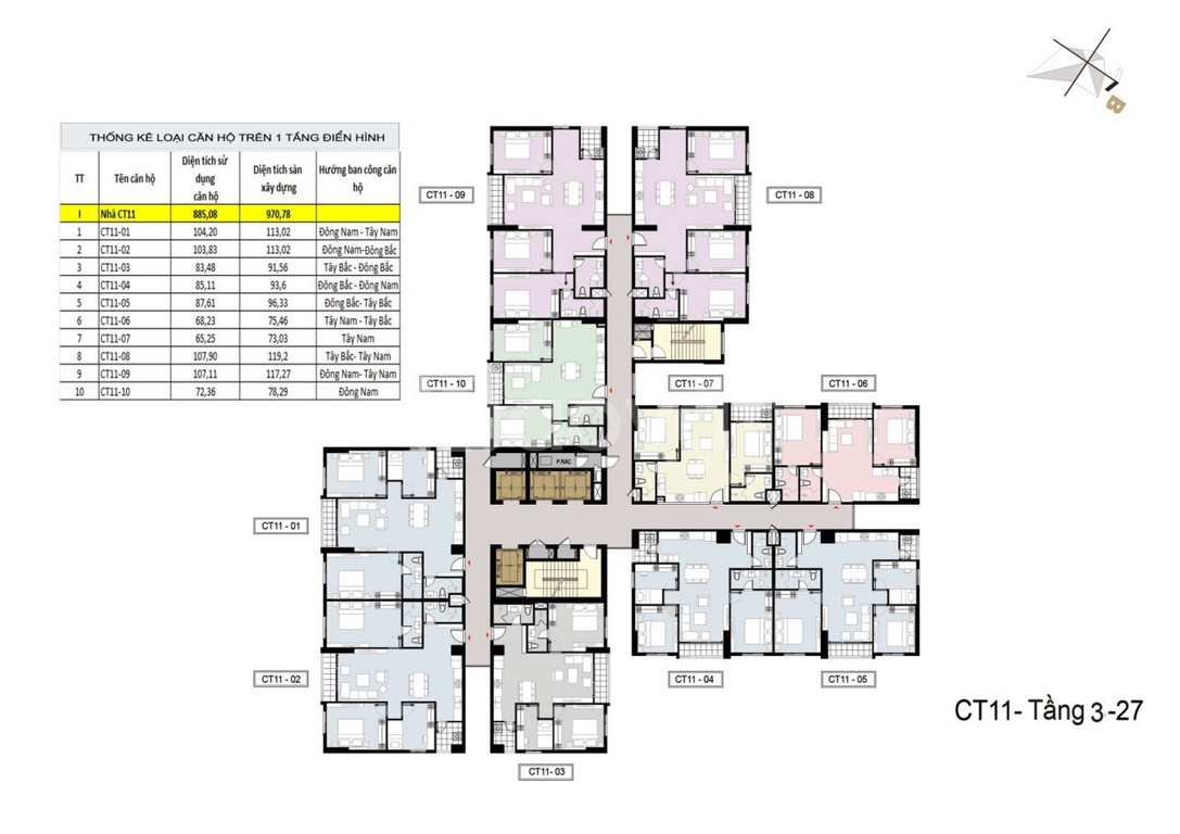Bán căn hộ 65m2 tại dự án Hồng Hà Eco City 1,577 tỷ