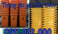 Nơi cung cấp thùng rác 120 lít 240 lít