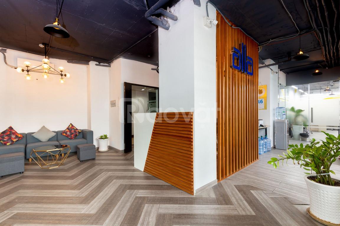 Văn phòng trọn gói Quận 1, 4 - 35m2 đầy đủ trang thiết bị 750.000đ/m2
