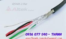 Cáp tín hiệu RS485, Cáp xoắn chống nhiễu Altek Kabel RS485 2P22AWG