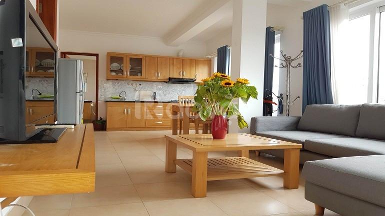 Cho thuê căn hộ dịch vụ tại Tây Hồ, 50m2, 1PN, sáng thoáng (ảnh 5)