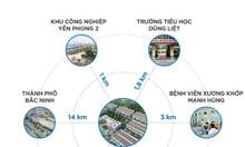 Đất nền liền kề KCN Yên Phong mở rộng – Bắc Ninh chỉ với 12tr