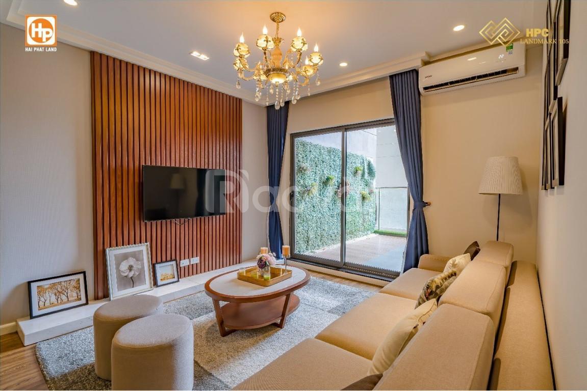 Căn hộ HPC Landmark 105 giá bán 22triệu/m2,nhận nhà ở luôn