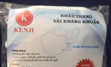 Khẩu trang vải kháng khuẩn 130k/10c khẩu trang vải ko dệt y tế 350k