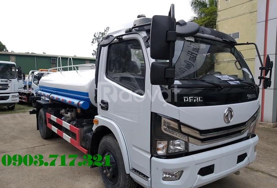 Xe bồn DongFeng 5 khối tưới cây rửa đường