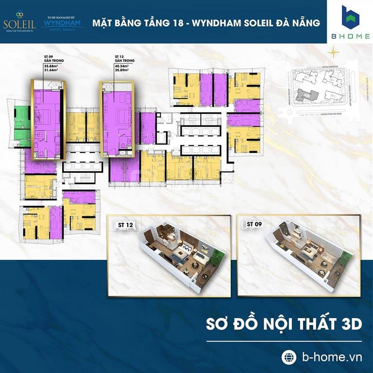 Chính chủ cần bán căn hộ Soleil Ánh Dương Đà Nẵng