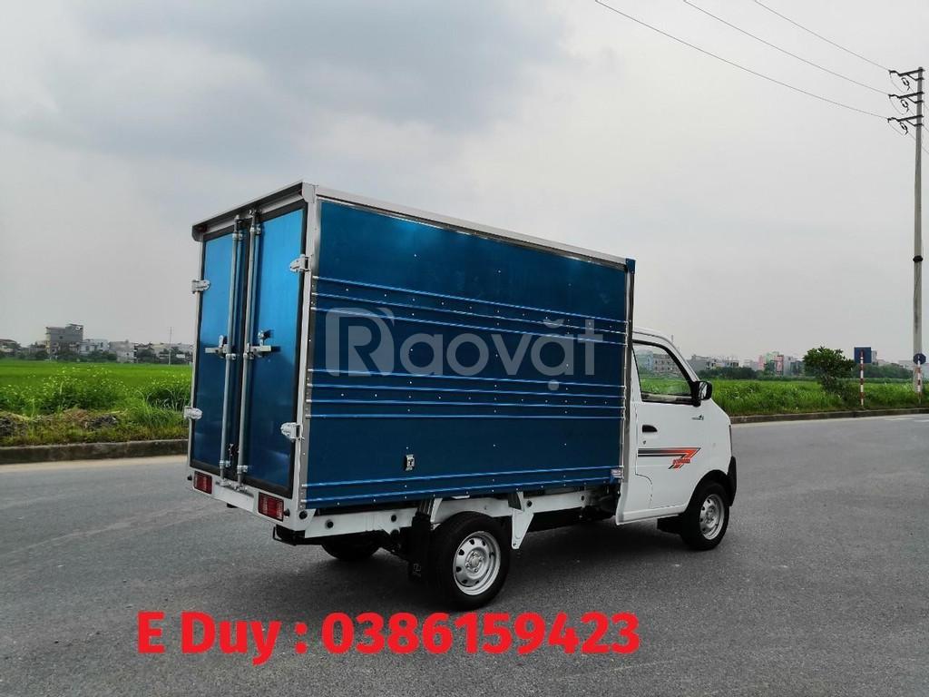 Giá xe tải 1 tấn | xe dongben 2020 : dongben 1021 thùng - 870kg-810kg
