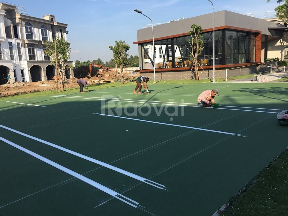 Tìm nhà phân phối chính thức sơn tennis Terraco để thi công sân tập
