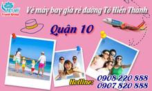 Vé máy bay giá rẻ đường Tô Hiến Thành quận 10 – Việt Mỹ