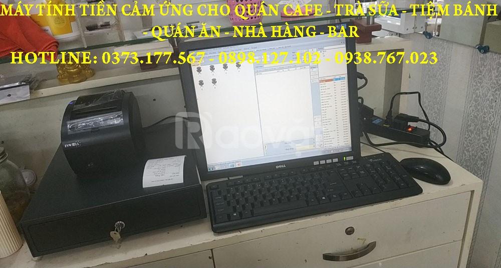 Nhận lắp máy tính tiền cho quán ăn, café tại Đồng Tháp