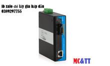 IMC101B-F bộ chuyển đổi quang điện công nghiệp 1 cổng quang + 1 cổng F