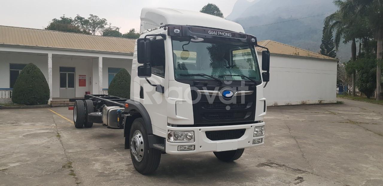 Xe tải Faw 7.1 tấn thùng chở pallet thùng dài 8 mét Hỗ trợ trả góp