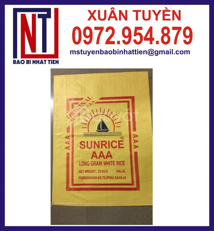 Cung cấp bao đựng gạo 25kg