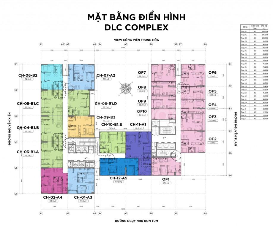 Vị trí dự án nằm tại số 199 Nguyễn Tuân, ngã tư Nguyễn Tuân