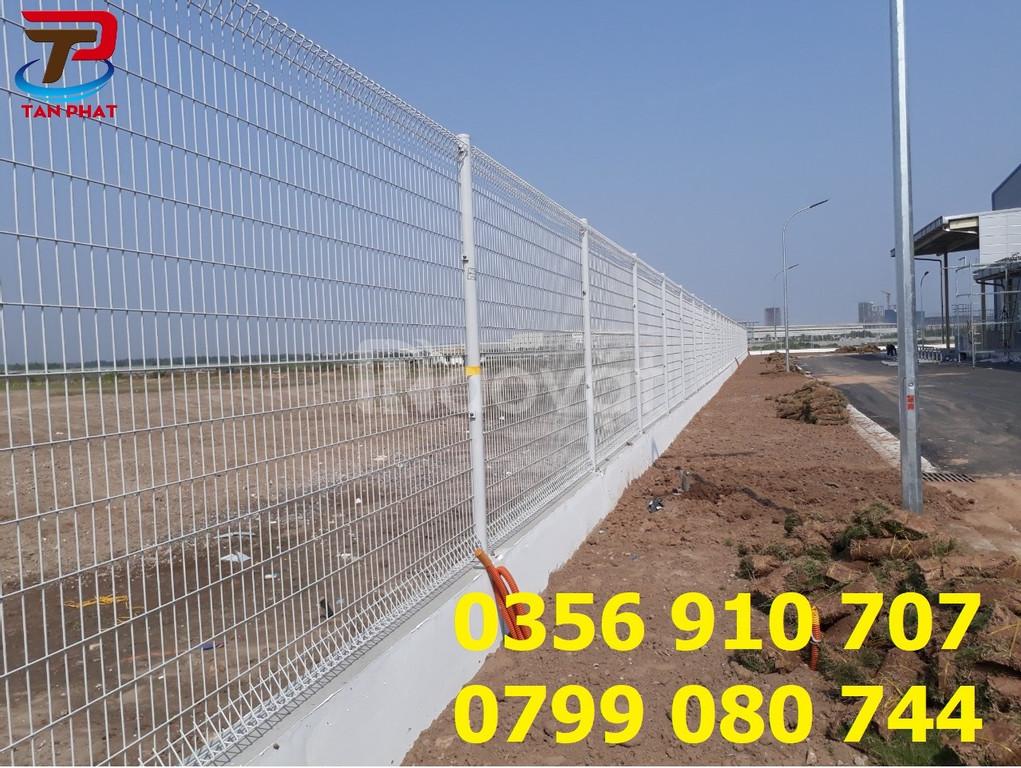 Hàng rào mạ kẽm sơn tĩnh điện giá rẻ