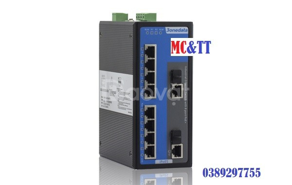IPS3110-2GC-4T-4POE Switch công nghiệp 4 cổng Ethernet 3onedata