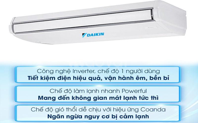 Bảng giá Máy Lạnh Áp Trần Daikin FHA100BVMV/RZF100CVM - Inverter- 4hp-
