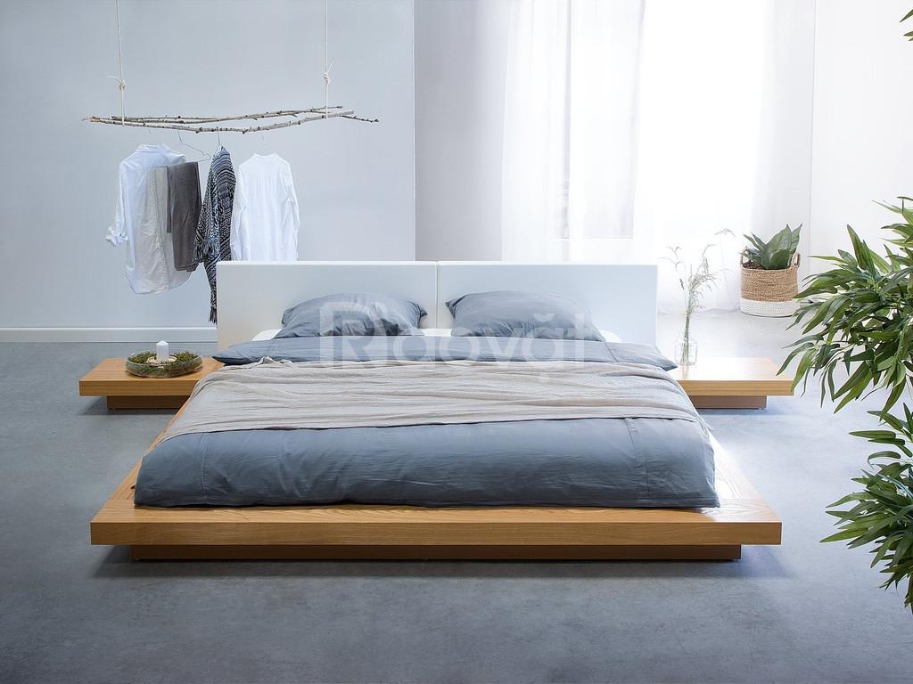 Giường thấp kiểu nhật giá rẻ - giường ngủ giá rẻ TPHCM