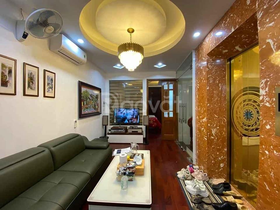 Bán nhà Trần Quang Diệu Đống Đa 75m2 9T MT 5m giá 20 tỷ.