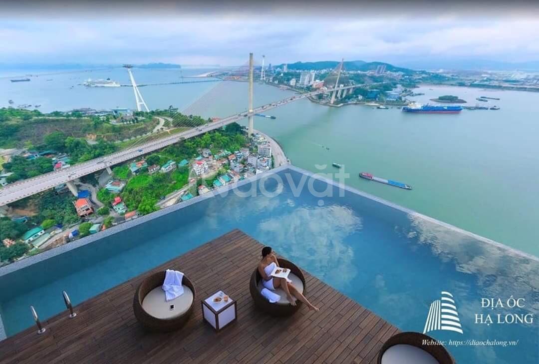 Bán căn hộ thông minh, 80% view vịnh Cửa Lục  Green Diamond Hạ Long