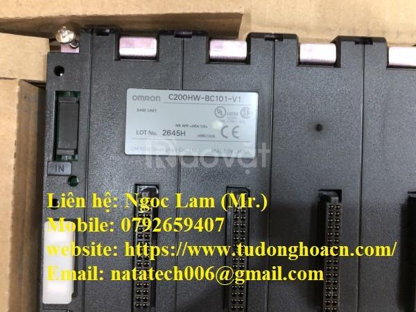 Bộ điều khiển lập trình C200HW-BC101-V1 chính hãng Omron