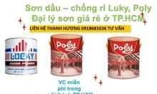 Cần mua sơn dầu poly màu trắng cho sắt thép giá rẻ tại TPHCM