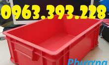Thùng nhựa có nắp, thùng nhựa B4, hộp nhựa công nghiệp