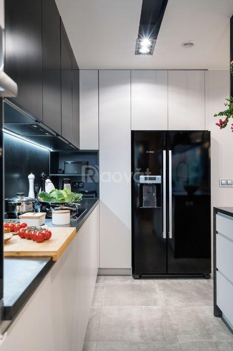 Tủ bếp gỗ giá rẻ hiện đại - Nhận đóng tủ bếp giá rẻ
