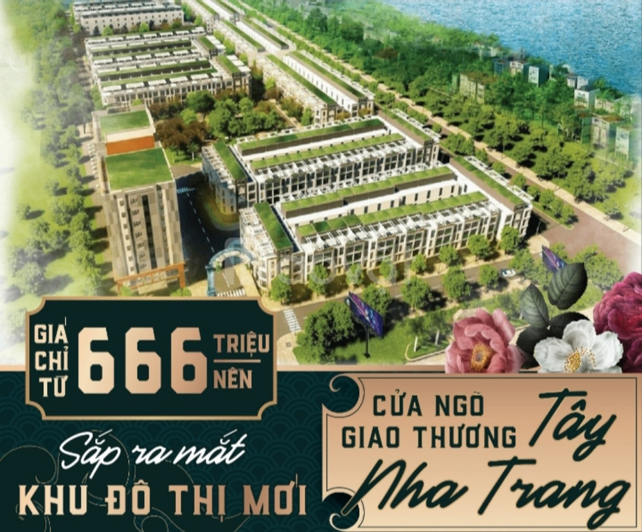 Nhận đặt chỗ dự án mới đất nền ven sông Nha Trang.