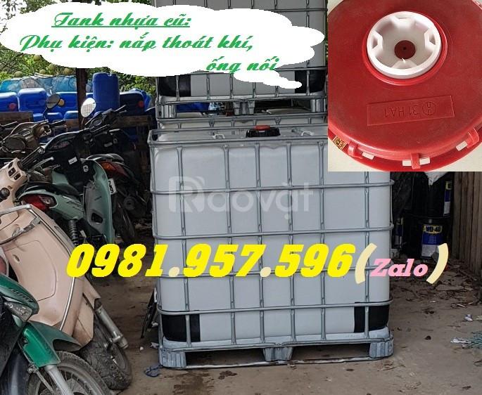Bồn nhựa nuôi cá, tank nhựa cũ, tank nhựa qua sử dụng