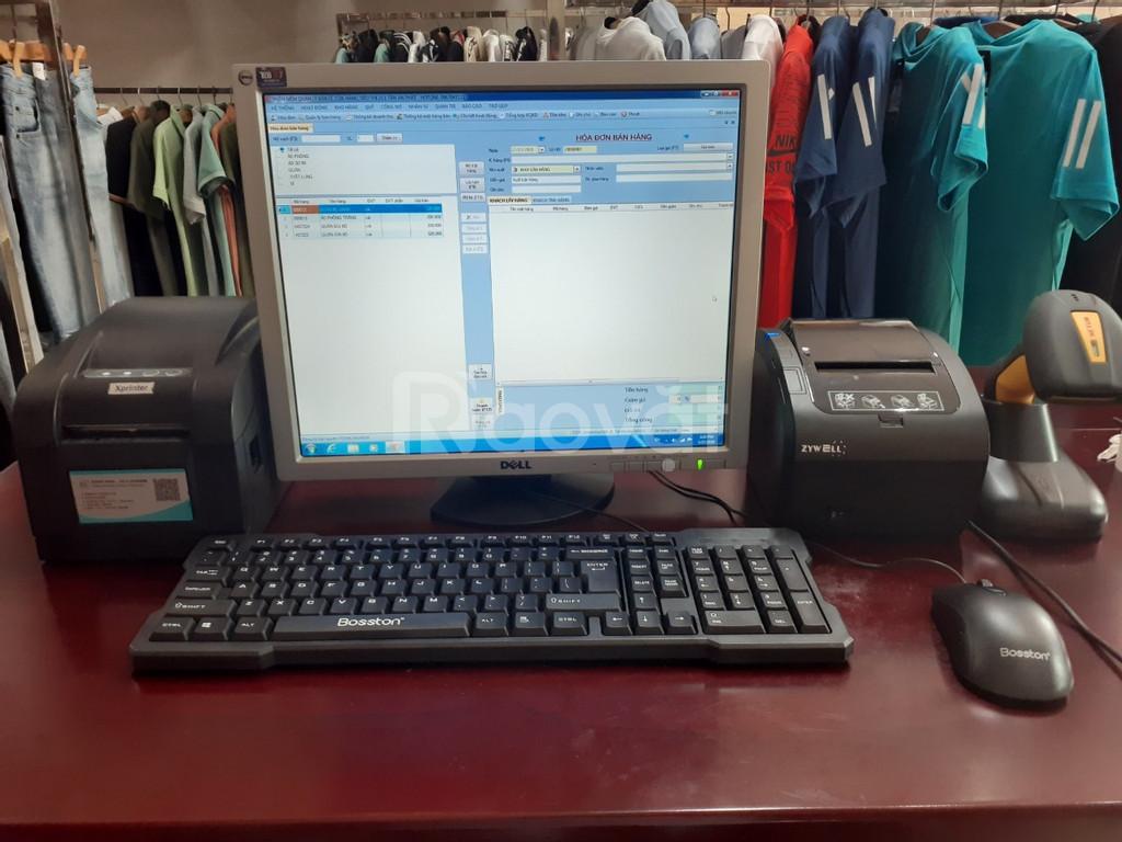 Máy tính tiền cho shop quần áo tại Hà Tĩnh giá rẻ