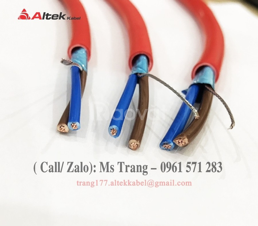 Dây tín hiệu- dây điều khiển chống cháy chống nhiễu nhập khẩu