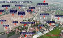 Bán đất nền trung tâm thị trấn Bích động, Việt Yên giá từ 1 tỷ/lô