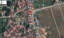 Đất mặt đường quốc lộ 2C, cạnh UBND Xã Thanh Vân