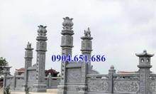 Cổng đá lăng mộ – Các mẫu cổng lăng mộ gia đình bằng đá khối đẹp