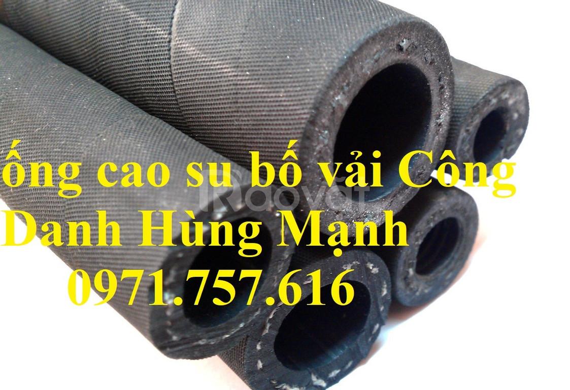 Ống cao su bố vải -cao su chất lượng cao
