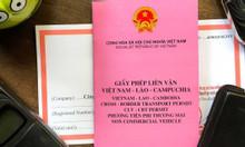 Dịch vụ làm giấy phép liên vận Việt- Lào