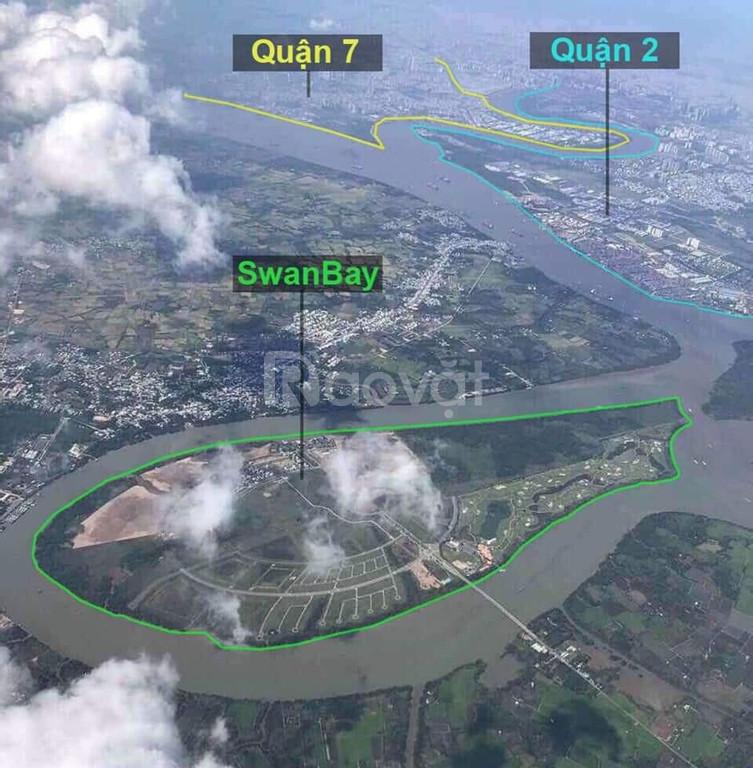 CH view sông, đảo SwanBay cách quận1 khoảng 15 phút - tt chỉ 700tr