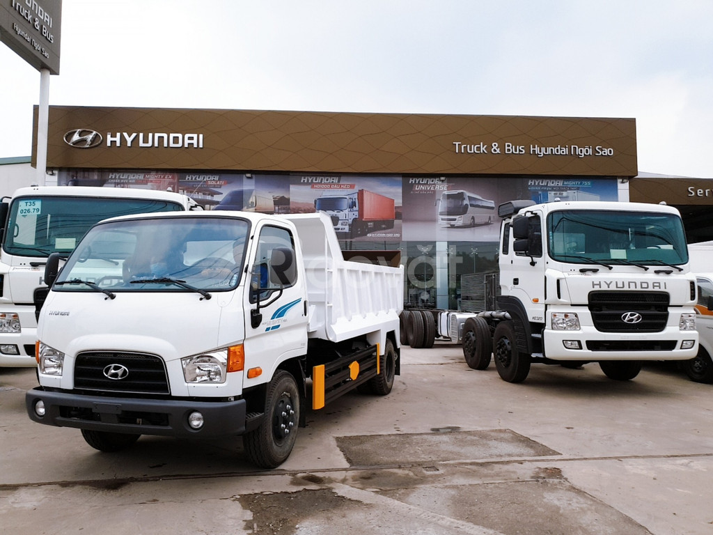 Xe Ben Hyundai 6T2 5Khối Mighty 110SP