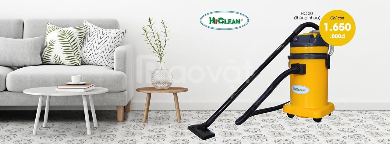 Máy hút bụi HiClean HC30P thùng nhựa giá 1,650,0000