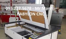 Máy laser 1390 cắt quảng cáo tại Hậu Giang chính hãng
