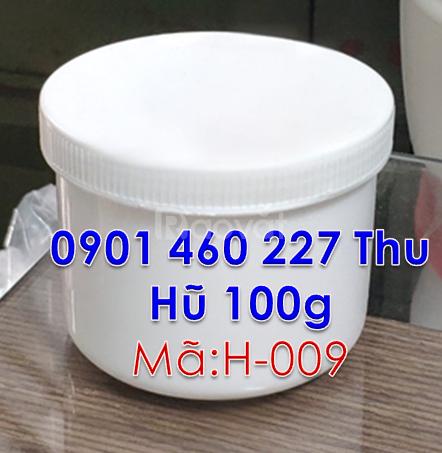 Nơi bán hũ nhựa 200g màu trắng đục,hũ nhựa 200gr tại TPHCM