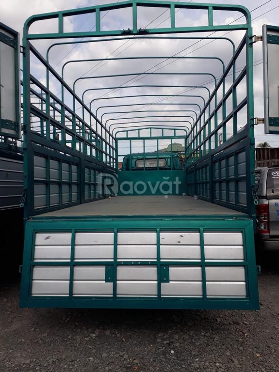 Xe tải 6,5 tấn thùng 6m3 hộp số phụ , cabin đôi , thắng hơi lốc kê