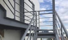 Sửa cầu thang sắt trong nhà, ngoài trời.