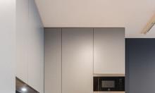 Tủ bếp melamine đẹp hiện đại - thiết kế & thi công tủ bếp