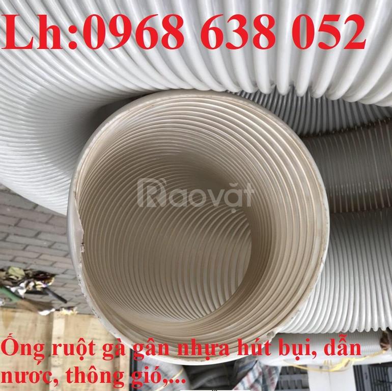 Ống nhựa PVC xoắn ruột gà hút bụi D100, D114, D120,D150, D168