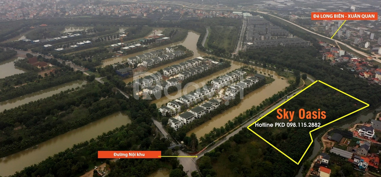 Chung cư Sky Oasis Ecopark Trả góp HTLS 0% - CK 5% S:32-107m2