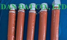 Gia công cơ khí:khớp nối mềm inox lắp ren có bọc inox-ống mềm bọc inox